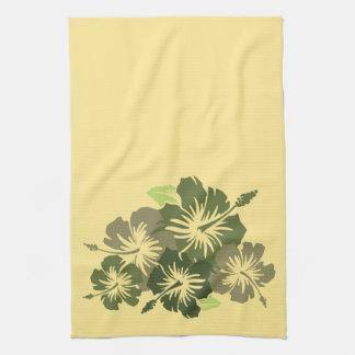 Epic Hibiscus Hawaiian Kitchen Towel