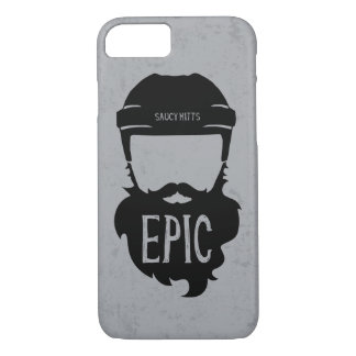Epic Hockey Beard iPhone 7 Case