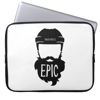 Epic Hockey Playoff Beard Computer Sleeves