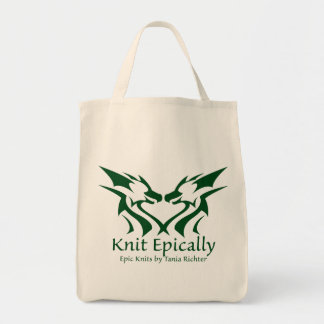 Epic Knits Tote Bag