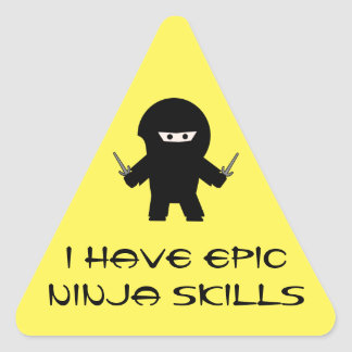 Epic Ninja skills sticker