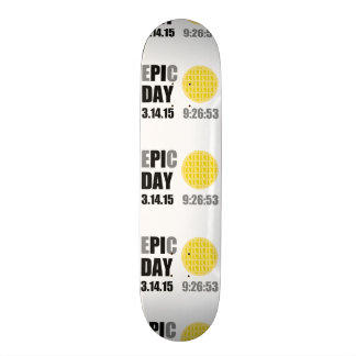 "Epic Pi Day - E""PI""C Day Apple Lattice Pie Skate Decks"