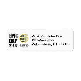 "Epic Pi Day - E""PI""C Day Blueberry Lattice Pie"