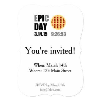 "Epic Pi Day - E""PI""C DAY Card"