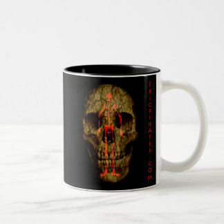 Epic Pirates Banner #4 Two-Tone Coffee Mug
