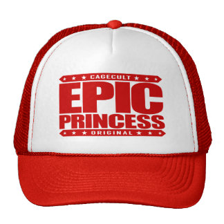 EPIC PRINCESS - I Am Self Sufficient Dragon Slayer Trucker Hat