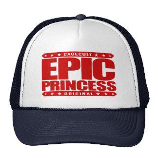 EPIC PRINCESS - I Am Self Sufficient Dragon Slayer Trucker Hat