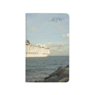 Epic Pursuit - Gull Following Cruise Ship Monogram Journals