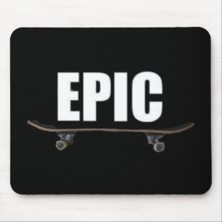 Epic Skating - Epic Skateboard Logo Mousepad