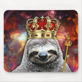 Epic Sloth king musepad Mouse Pad