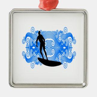 Epic Surf Metal Ornament
