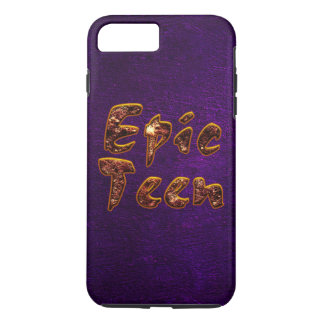 Epic Teen with Purple Background iPhone 7 Plus Case
