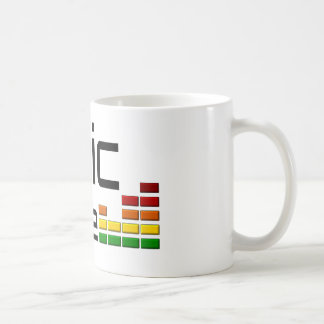 Epic Trance Music with Stereo Equalizer Classic White Coffee Mug