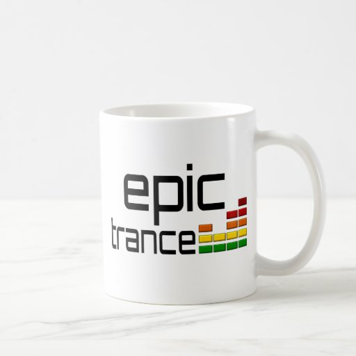 Epic Trance Music with Stereo Equalizer Coffee Mugs