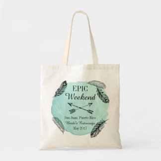 Epic Weekend Bride's Entourage Bag