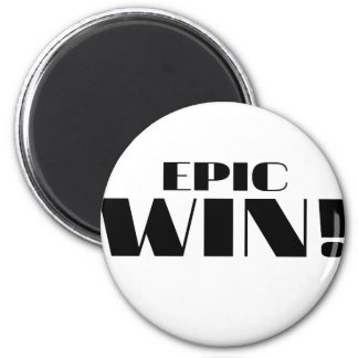 Epic Win! 2 Inch Round Magnet