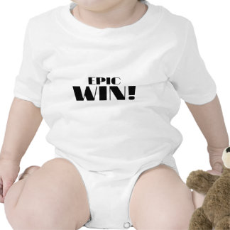 Epic Win! Baby Bodysuits
