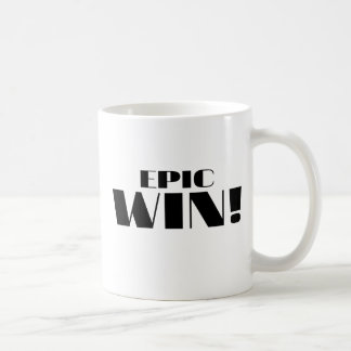 Epic Win! Classic White Coffee Mug
