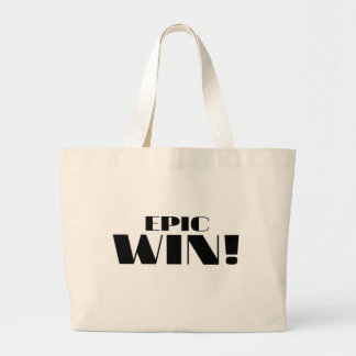 Epic Win! Jumbo Tote Bag