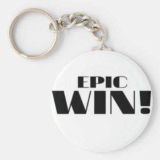 Epic Win Keychain