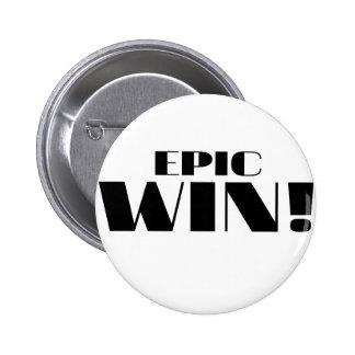 Epic Win Pin