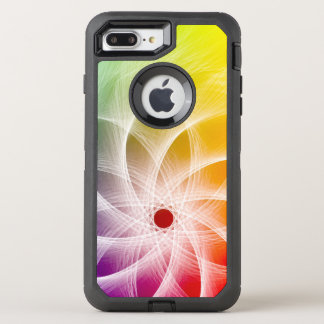 Epicly Colorful Pinwheel Design OtterBox Defender iPhone 8 Plus/7 Plus Case