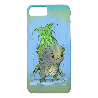 EPICORN  ALIEN CARTOON Apple iPhone 7  BARELY T Case-Mate iPhone Case