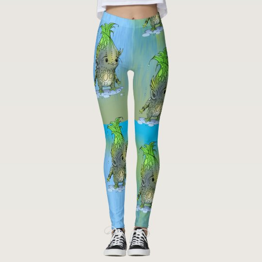EPICORN ALIEN MONSTER LEGGINGS