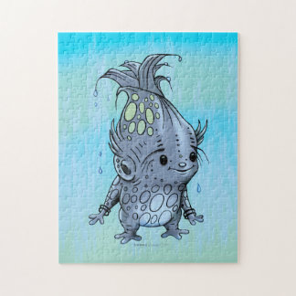 EPICORN ALIEN PUZZLE MONSTER 11 X 14