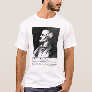 Epicurus, engraved by Johann Fredrich Schmidt T-Shirt