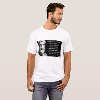 Epicurus god quote T-Shirt