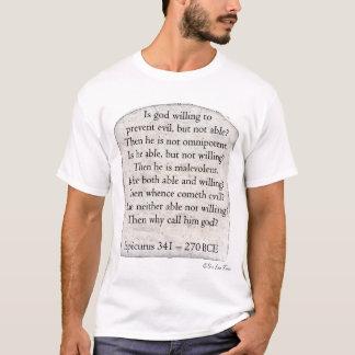 Epicurus Quote T-Shirt