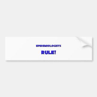 Epidemiologists Rule! Bumper Sticker