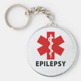 Epilepsy alert keychain