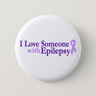 epilepsy love 2 inch round button
