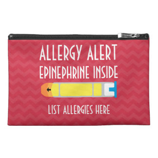 Epinephrine Zippered Medical Bag Travel Accessories Bags
