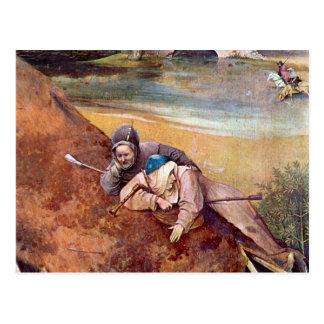 Epiphanie-Triptychon - Anbetung der Könige, Detail Postcard