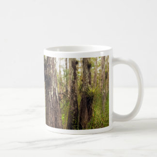 Epiphyte Bromeliad in Florida Forest Coffee Mug