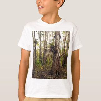 Epiphyte Bromeliad in Florida Forest T-Shirt