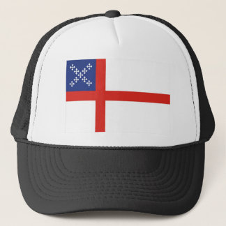 episcopal flag church religion cross god trucker hat