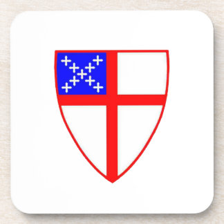 Episcopal Shield Coaster