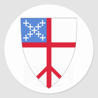 Episcopalians For Peace Throughout the Church Round Sticker