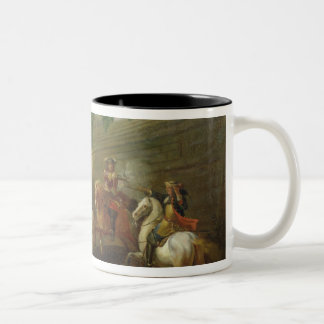 Episode of Fronde at the Faubourg Saint-Antoine Two-Tone Coffee Mug