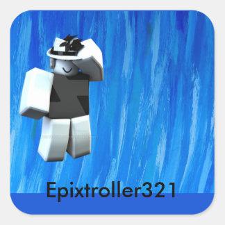 Epixtroller321 Sticker