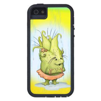 EPIZELE ALIEN CARTOON iPhone SE + iPhone 5/5S T XT Case For The iPhone 5