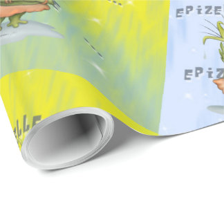 """EPIZELLE  30"""" x 15'   CARTOON Wrapping Paper"""