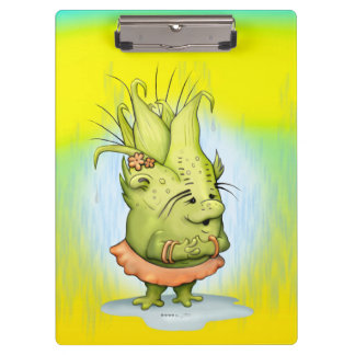 EPIZELLE ALIEN  CARTOON Clipboard