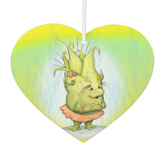 EPIZELLE ALIEN CARTOON HEART Air Freshener