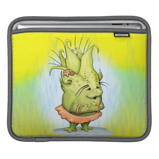 EPIZELLE ALIEN CARTOON iPad H Sleeve For iPads
