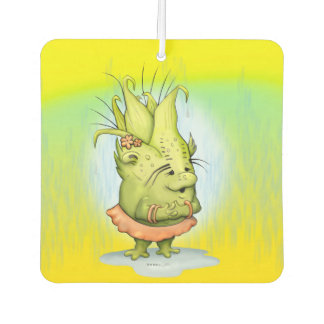 EPIZELLE ALIEN CARTOON Square Air Freshener